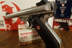Ruger MK 4 Takedown Button