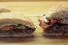 Vergleich Big Tasty Bacon Burger