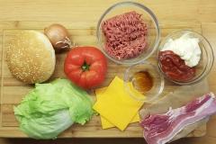 Zutaten für den Big Tasty Bacon Burger
